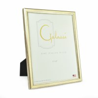 "8"" x 10"" Cream and Silver Galassi Photo Frame"