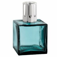 Blue Glass Fragrance Cube Lampe