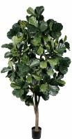 """96"""" Artificial Fiddle Leaf Multi-Trunk Tree"""