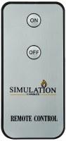 "3"" Simulation Candle Remote Control"