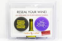 Set of 2 Winelover and Read This Wine Bottle Cap