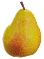 "4"" Gold & Yellow Artificial Pear"