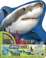 Animal Adventures: Sharks Book