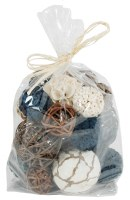 Bag of 18 Assorted Navy Orbs