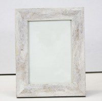 "8"" x 10"" White with Gold Accents Photo Frame"