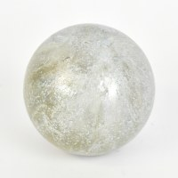 "4"" Shimmering Dawn Glass Orb"