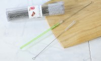 """10"""" Stainless Steel Straw Cleaning Brush"""