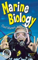 """9"""" x 6"""" Girls in Science Marine Biology: Cool Women Who Dive"""