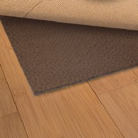 "3' 10"" x 5' 8"" Brown Luxehold Non-Slip Rug Pad"