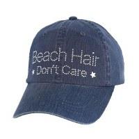 Denim Beach Hair Don't Care Cap