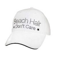 White Beach Hair Don't Care Cap
