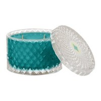 10 oz. Seaside No. 93 Double Wick Faceted Glass Candle