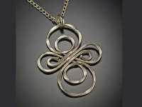 """30"""" Gold Infinity Loop Necklace"""