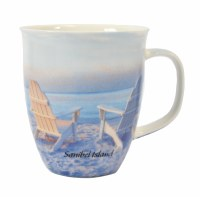 15 oz. Sanibel 2 Chair Photo Wrapped Harbor Mug