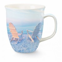 15 oz. Full Color Beach Photograph Wrapped Ceramic Harbor Mug