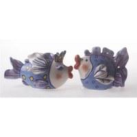 "4"" Ceramic Fairy Salt and Pepper Shakers"