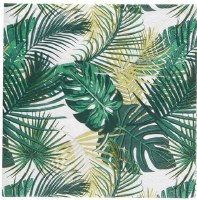 "7"" Square Palm Leaf Paper Luncheon Napkins"