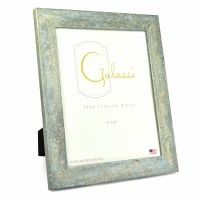 "8"" x 10"" Blue with Silver Accents Galassi Photo Frame"