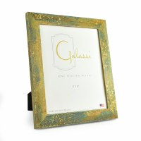 "8"" x 10"" Teal with Gold Accents Galassi Photo Frame"