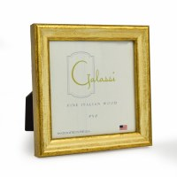 """4"""" x 4"""" Square Cream and Gold Galassi Photo Frame"""