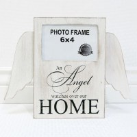 "4"" x 6"" An Angel Watches Over Memorial Photo Frame"
