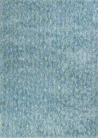 "45"" x 27"" Seafoam Blue Heather Bliss Rug"