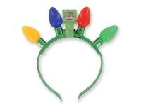 """8"""" LED 4 Multicolor Jumbo Bulb Headband"""