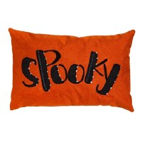 "13"" x 20"" Spooky Halloween Lumbar Outdoor Pillow"