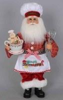 """13"""" Sweet Memories Kitchen Santa"""