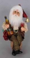 "9"" Wine Santa"