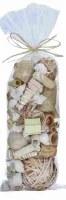 """13"""" Bag of Natural Decorative Seashells"""