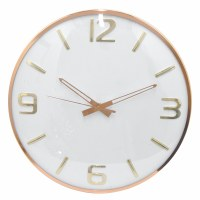 """16"""" Round Rose Gold Wall Clock"""