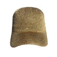 Bronze Woven Sequin Cap
