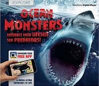 Ocean Monsters: Interact With Lifesize Sea Predators! Book