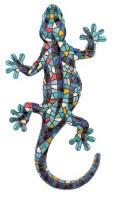 "7"" Blue Mosaic Gecko"