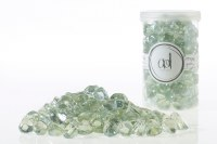 46oz Jar of Iridescent Glass Ice Gems