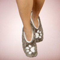 Women's Small I Sleep With Dog Footsies