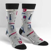 Multicolored Nailed it Socks