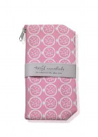 "8"" Pink Pomegranate Travel Essentials Bag"