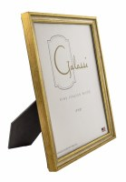 "8"" x 10"" Distressed Silver and Gold Finish Picture Frame"