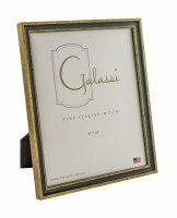 "8"" x 10"" Primary Blue and Gold Picture Frame"