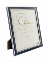 "8"" x 10"" Blue and Silver Picture Frame"