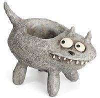 "9"" Fluffy Cat Planter"