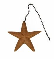 """4"""" Teak Starfish Fan Pull"""