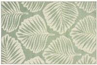 """3' 3"""" x 5' Green Barbados Collection Rug 8027Z"""