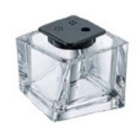 "3"" Twist Top Clear Acrylic Spice Jar"
