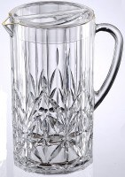 85 oz Carved Royal Clear Acrylic Pitcher