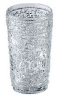 21 oz Paisley Clear Acrylic Cooler Glass