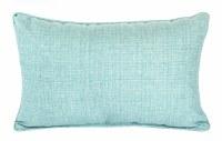 "12"" x 19"" Caribbean Blue Bremlane Pillow"