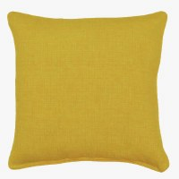 "17"" Square Yellow Bremlane Pillow"